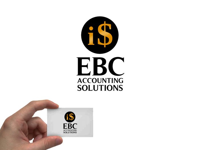 Logo Design by JaroslavProcka - Entry No. 247 in the Logo Design Contest New Logo Design for EBC Accounting Solutions.