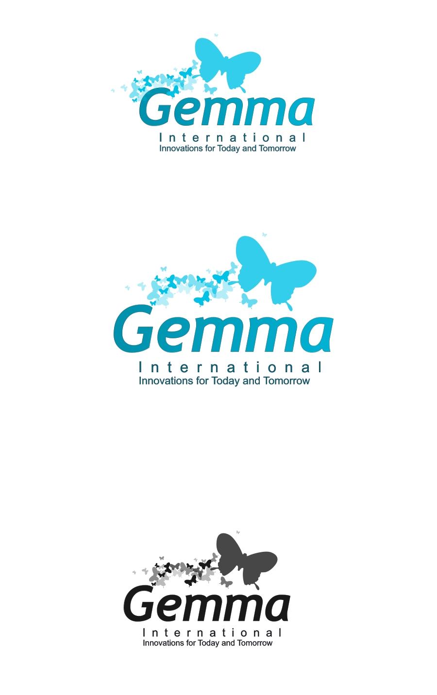 Logo Design by Private User - Entry No. 190 in the Logo Design Contest Artistic Logo Design for Gemma International.