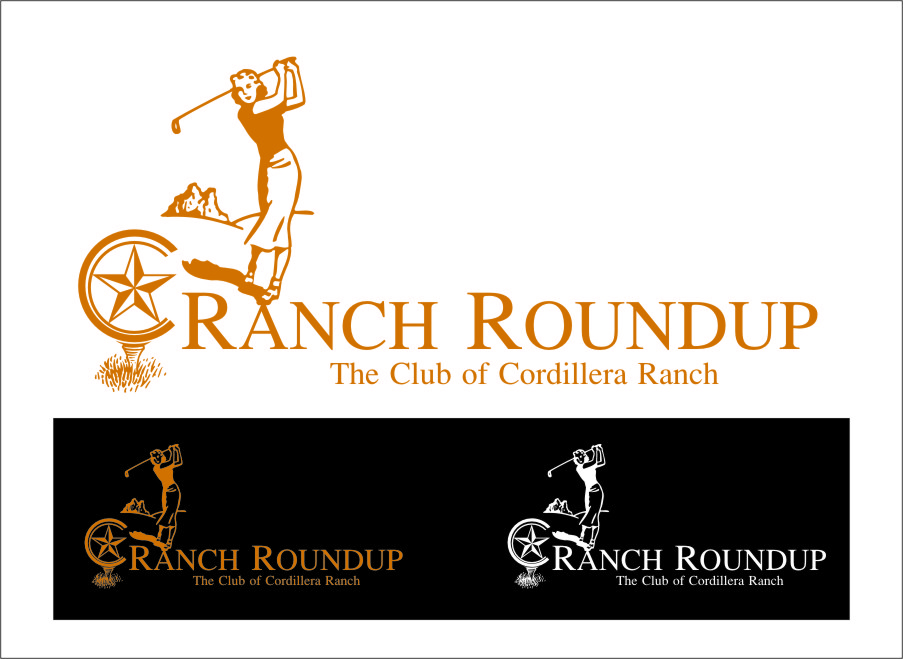 Logo Design by Ngepet_art - Entry No. 25 in the Logo Design Contest Captivating Logo Design for Ranch Roundup.