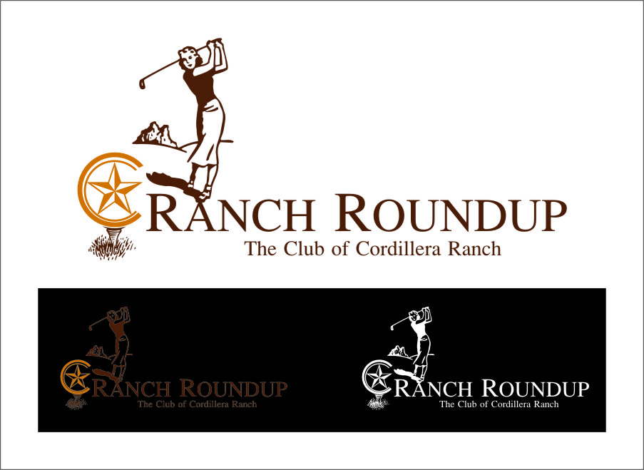 Logo Design by RasYa Muhammad Athaya - Entry No. 27 in the Logo Design Contest Captivating Logo Design for Ranch Roundup.