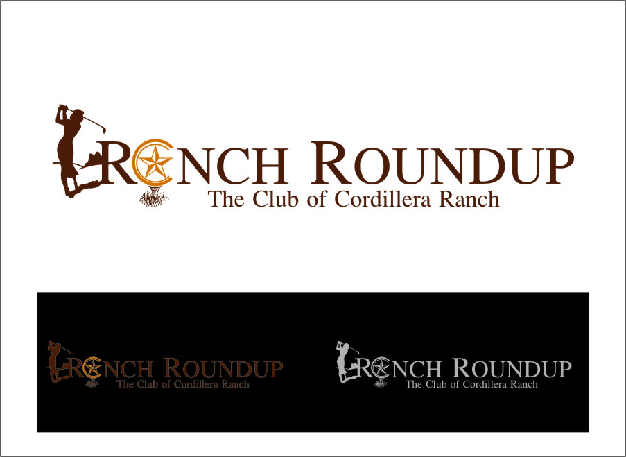 Logo Design by Ngepet_art - Entry No. 30 in the Logo Design Contest Captivating Logo Design for Ranch Roundup.
