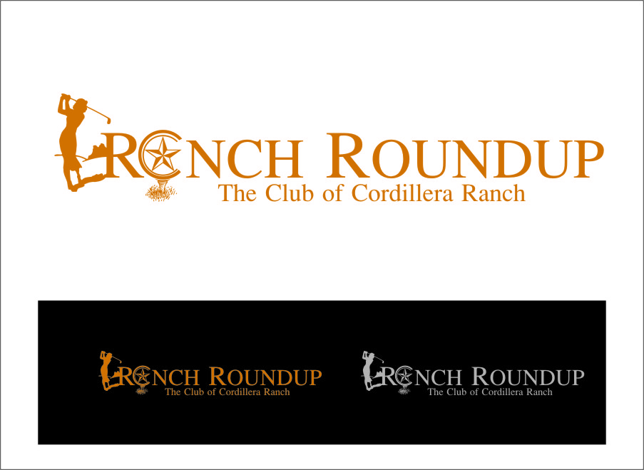 Logo Design by RasYa Muhammad Athaya - Entry No. 31 in the Logo Design Contest Captivating Logo Design for Ranch Roundup.