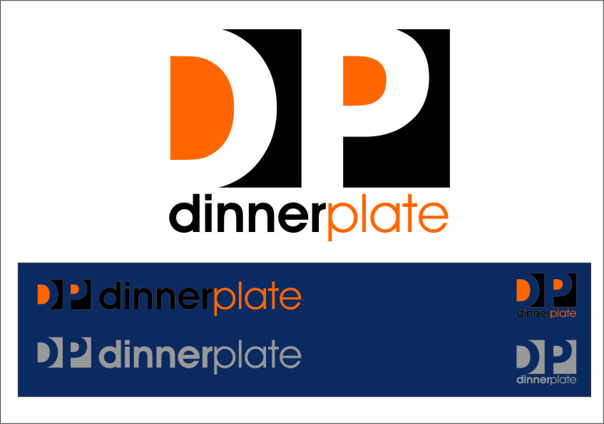 Logo Design by RasYa Muhammad Athaya - Entry No. 107 in the Logo Design Contest Imaginative Logo Design for Dinner Plate.