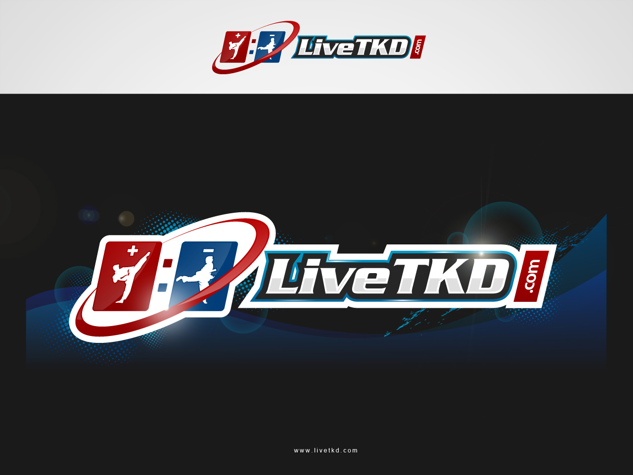 Logo Design by jpbituin - Entry No. 168 in the Logo Design Contest New Logo Design for LiveTKD.com.