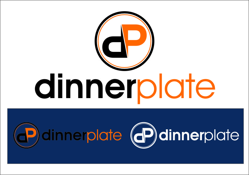 Logo Design by Ngepet_art - Entry No. 108 in the Logo Design Contest Imaginative Logo Design for Dinner Plate.