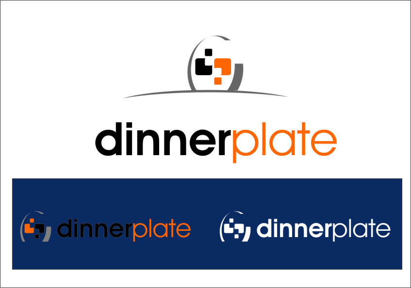 Logo Design by Ngepet_art - Entry No. 109 in the Logo Design Contest Imaginative Logo Design for Dinner Plate.
