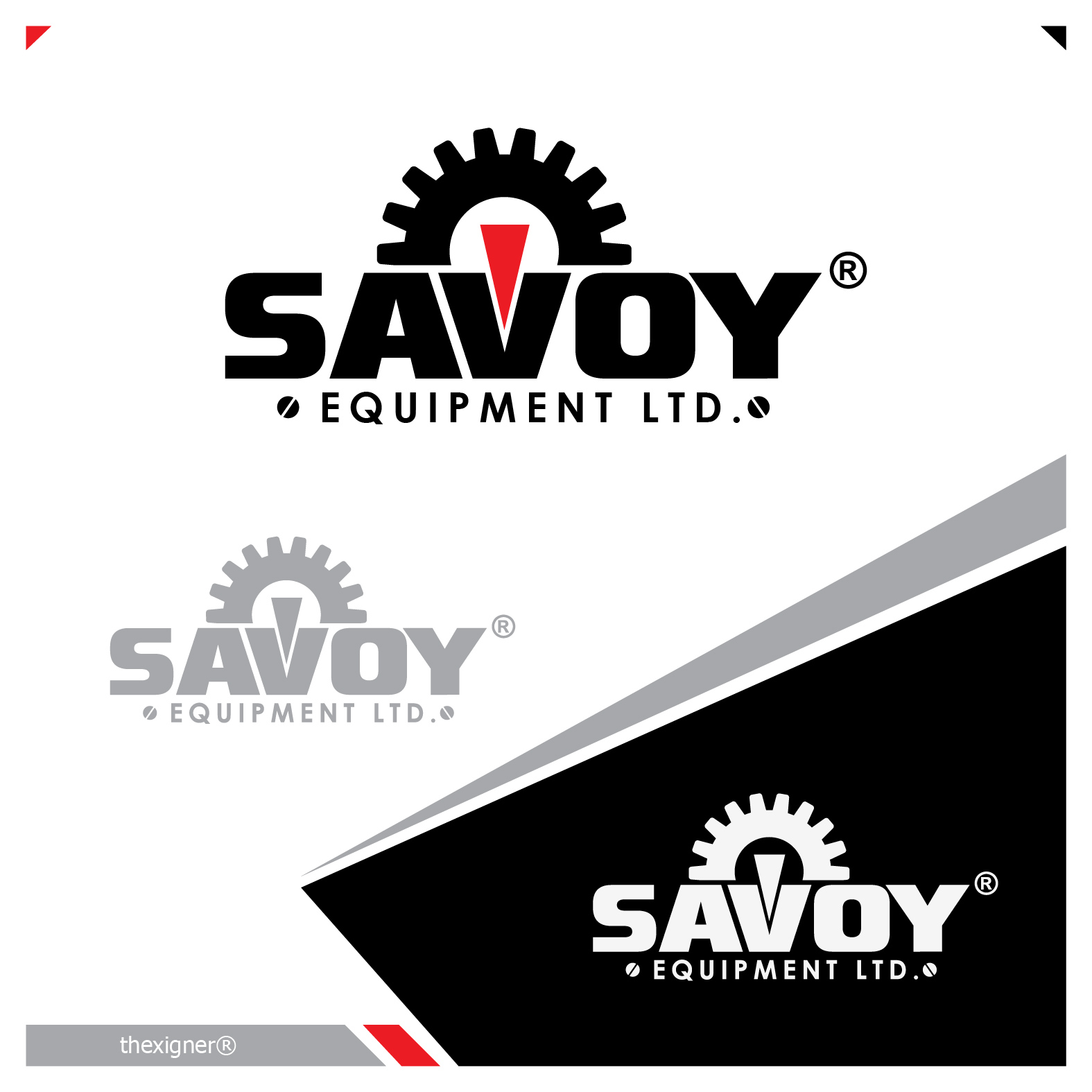 Logo Design by lagalag - Entry No. 32 in the Logo Design Contest Inspiring Logo Design for Savoy Equipment Ltd..