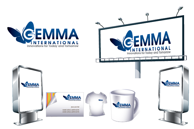 Logo Design by Private User - Entry No. 200 in the Logo Design Contest Artistic Logo Design for Gemma International.