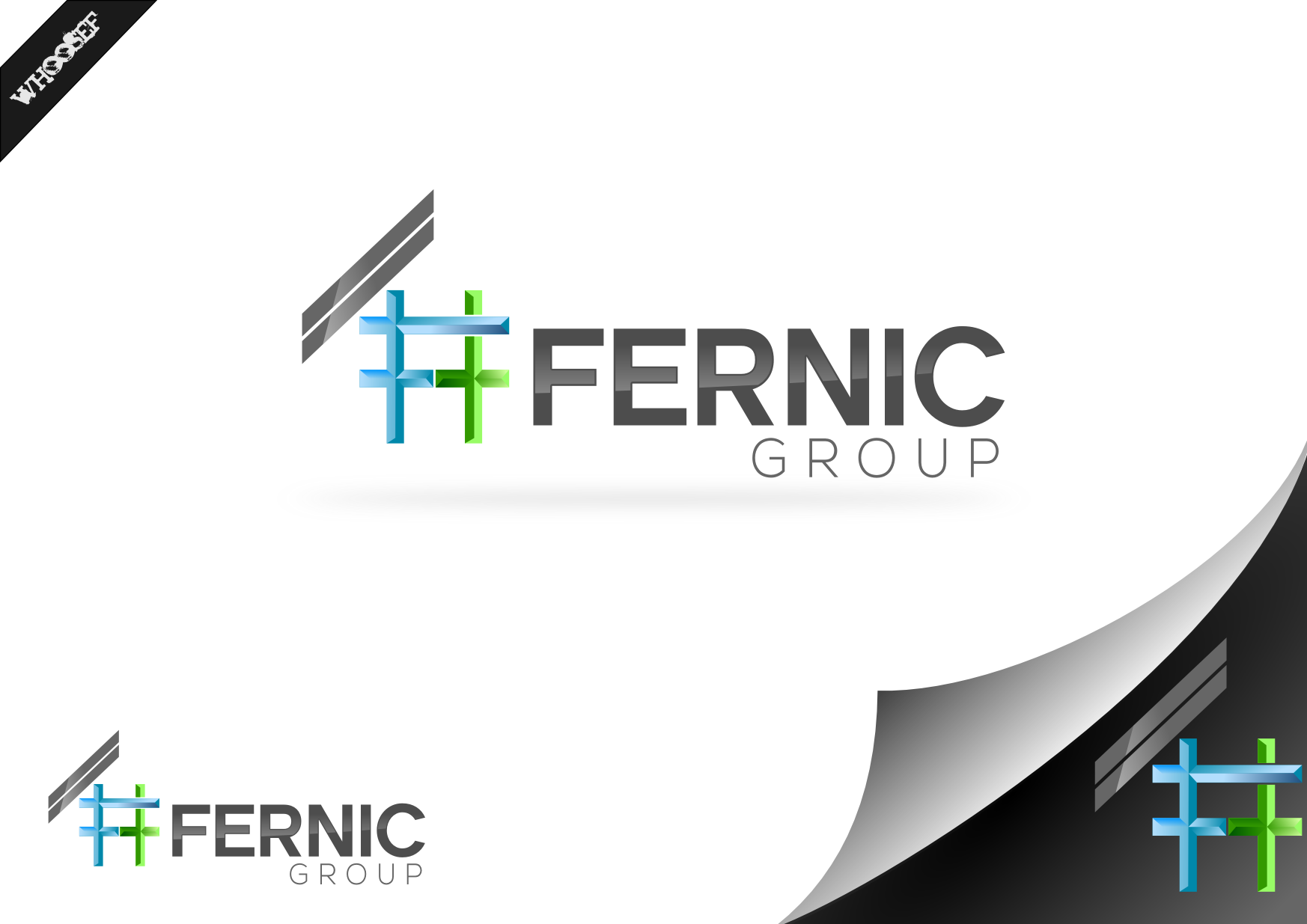 Logo Design by whoosef - Entry No. 65 in the Logo Design Contest Artistic Logo Design for Fernic Goup.