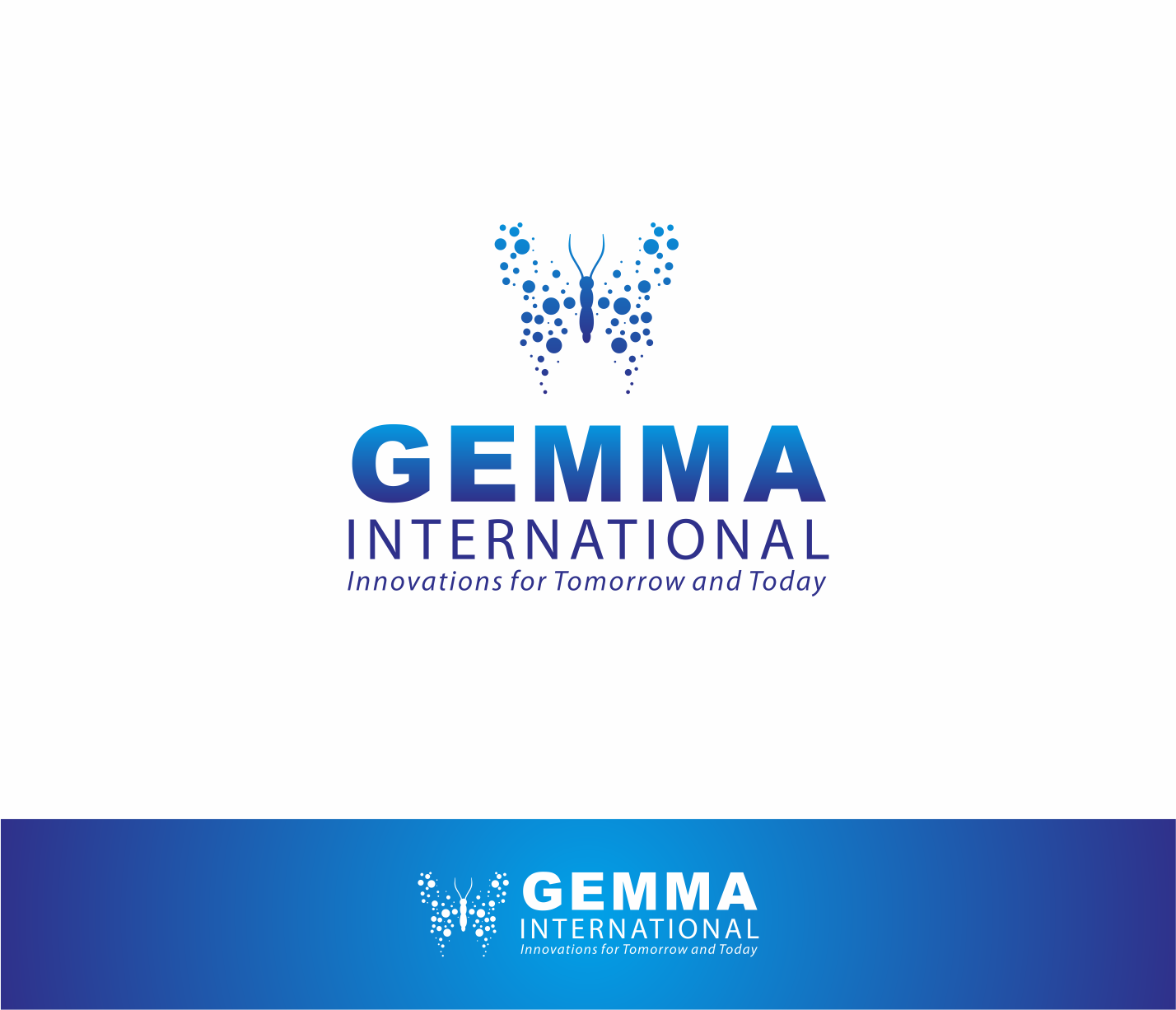 Logo Design by Armada Jamaluddin - Entry No. 203 in the Logo Design Contest Artistic Logo Design for Gemma International.