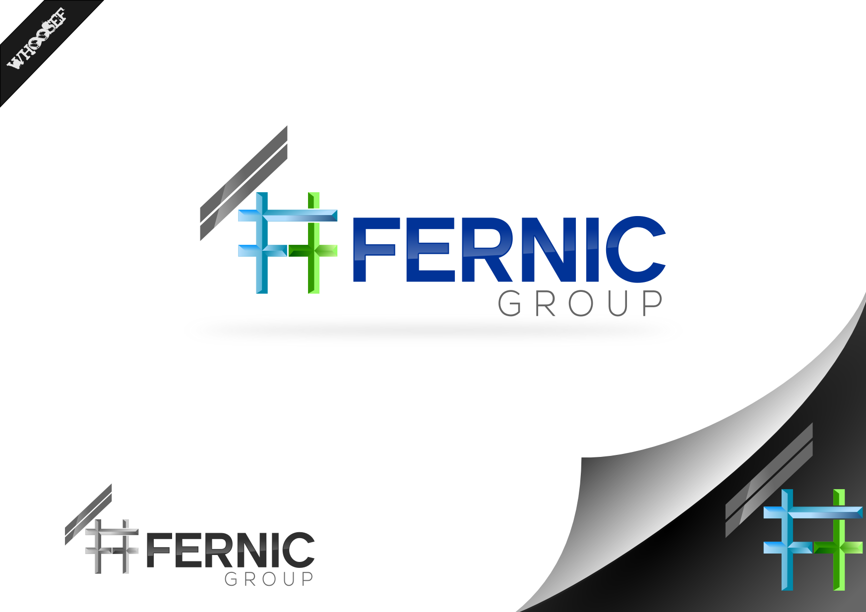 Logo Design by whoosef - Entry No. 66 in the Logo Design Contest Artistic Logo Design for Fernic Goup.