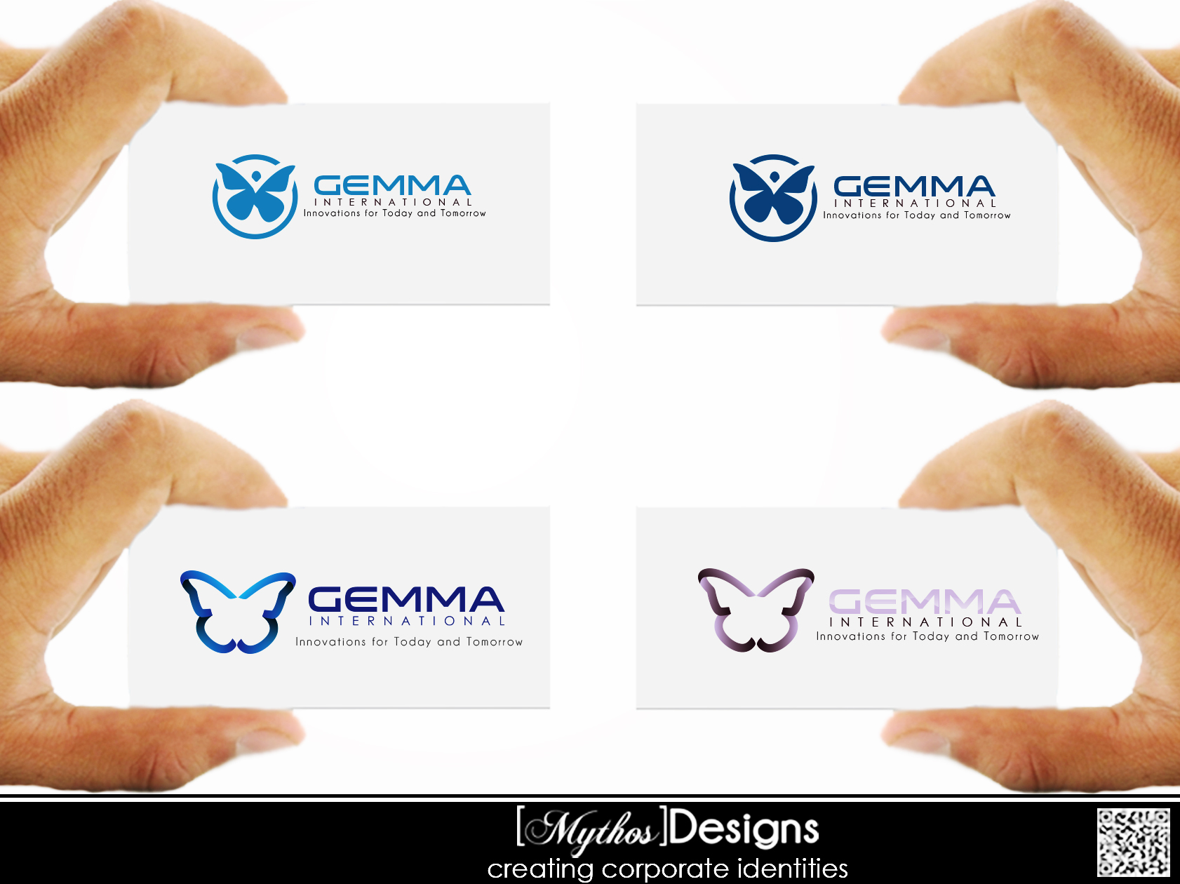 Logo Design by Mythos Designs - Entry No. 206 in the Logo Design Contest Artistic Logo Design for Gemma International.