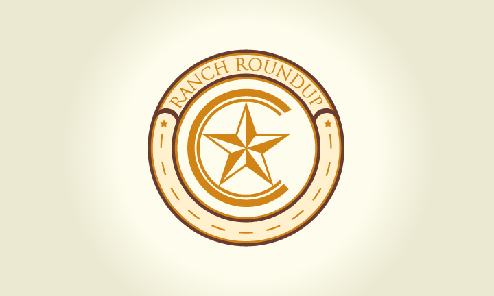Logo Design by Top Elite - Entry No. 33 in the Logo Design Contest Captivating Logo Design for Ranch Roundup.