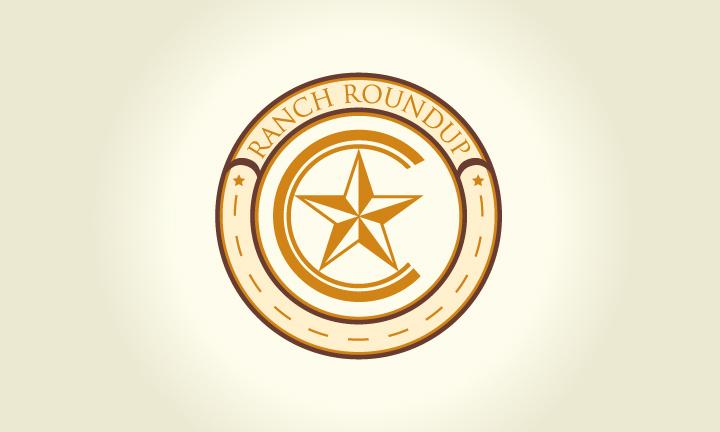 Logo Design by Top Elite - Entry No. 33 in the Logo Design Contest Captivating Logo Design for Ranch Roundup.