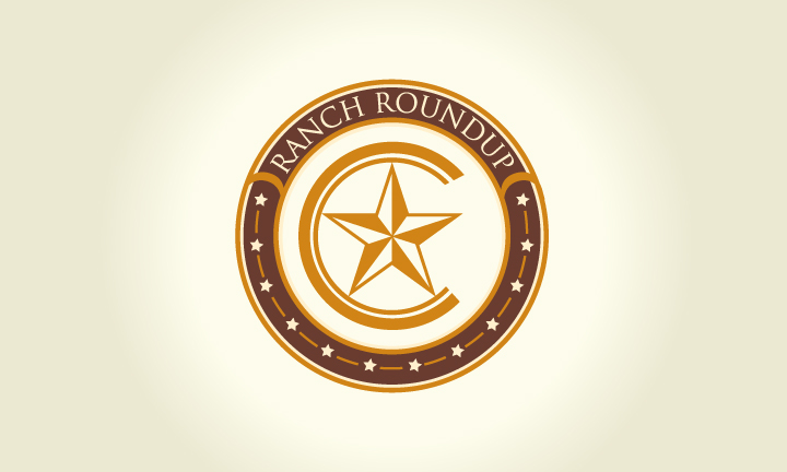 Logo Design by Top Elite - Entry No. 35 in the Logo Design Contest Captivating Logo Design for Ranch Roundup.