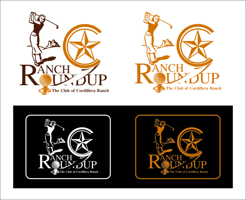 Logo Design by Ngepet_art - Entry No. 36 in the Logo Design Contest Captivating Logo Design for Ranch Roundup.