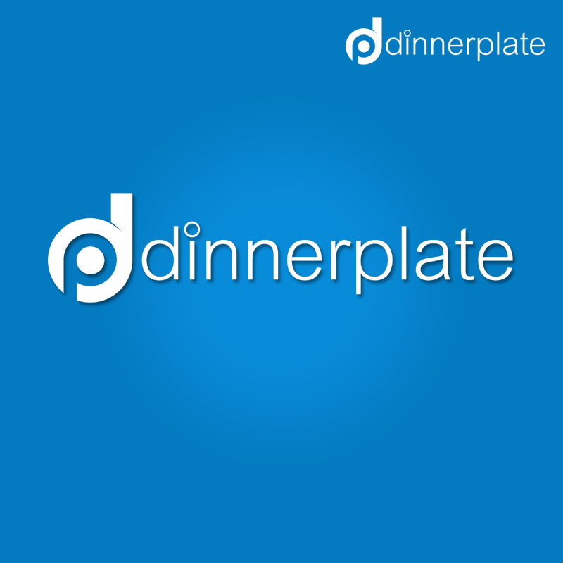 Logo Design by Robert Turla - Entry No. 110 in the Logo Design Contest Imaginative Logo Design for Dinner Plate.