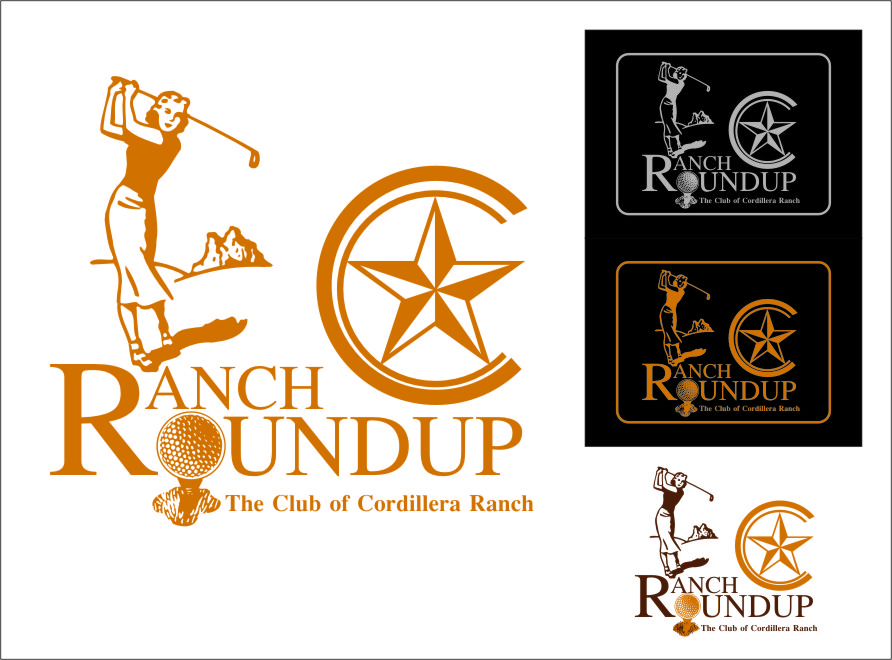 Logo Design by RasYa Muhammad Athaya - Entry No. 37 in the Logo Design Contest Captivating Logo Design for Ranch Roundup.
