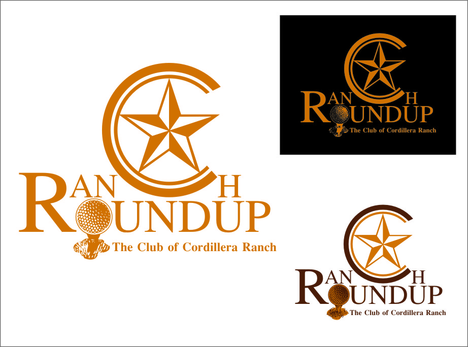Logo Design by RasYa Muhammad Athaya - Entry No. 38 in the Logo Design Contest Captivating Logo Design for Ranch Roundup.