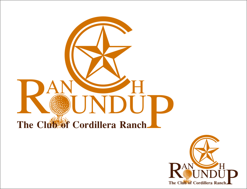 Logo Design by Ngepet_art - Entry No. 39 in the Logo Design Contest Captivating Logo Design for Ranch Roundup.