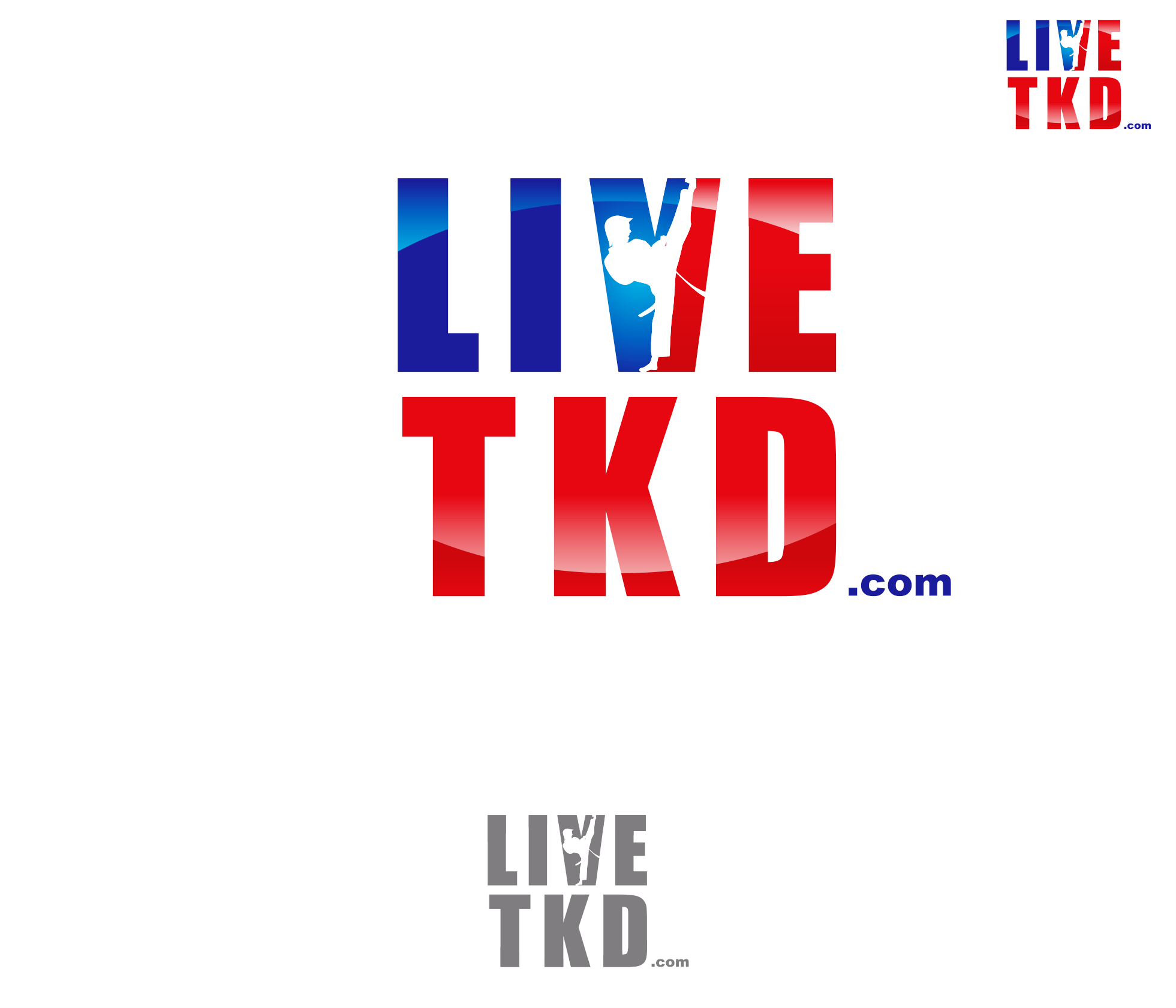 Logo Design by Armada Jamaluddin - Entry No. 174 in the Logo Design Contest New Logo Design for LiveTKD.com.