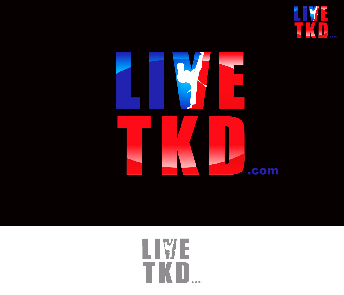 Logo Design by Armada Jamaluddin - Entry No. 175 in the Logo Design Contest New Logo Design for LiveTKD.com.