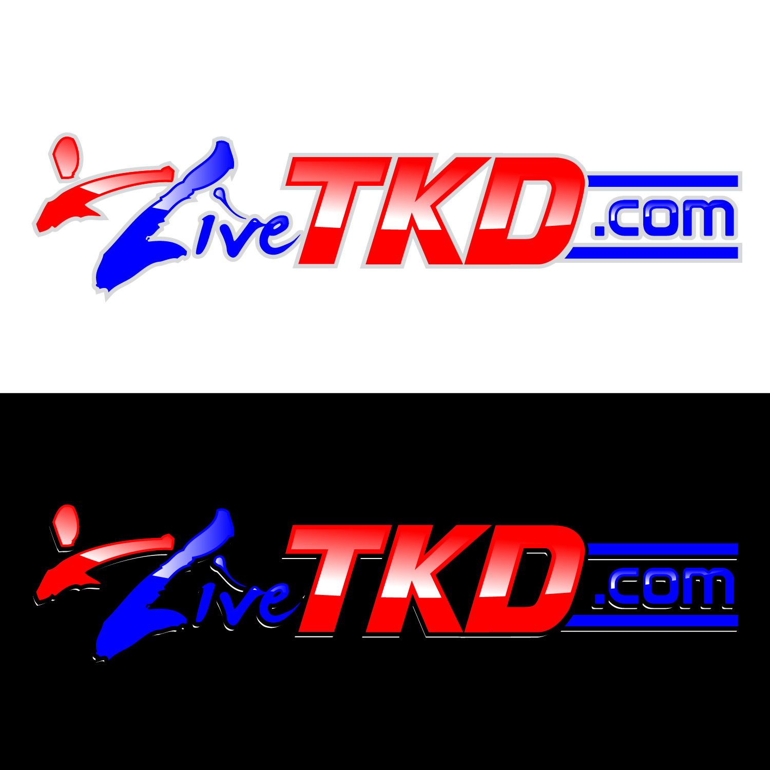 Logo Design by lagalag - Entry No. 176 in the Logo Design Contest New Logo Design for LiveTKD.com.