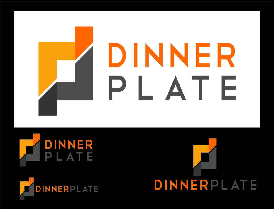 Logo Design by Ngepet_art - Entry No. 113 in the Logo Design Contest Imaginative Logo Design for Dinner Plate.