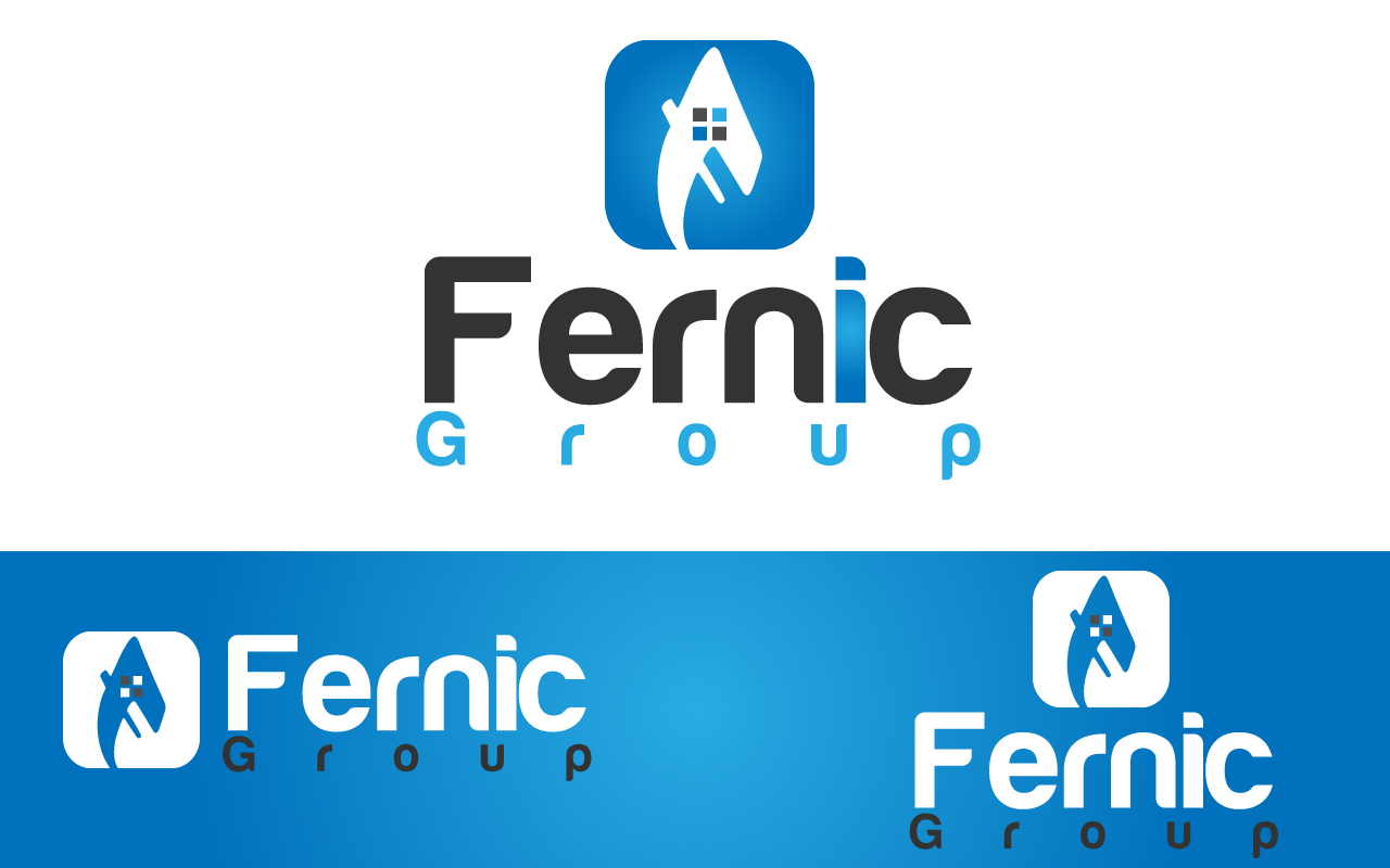 Logo Design by Jagdeep Singh - Entry No. 75 in the Logo Design Contest Artistic Logo Design for Fernic Goup.