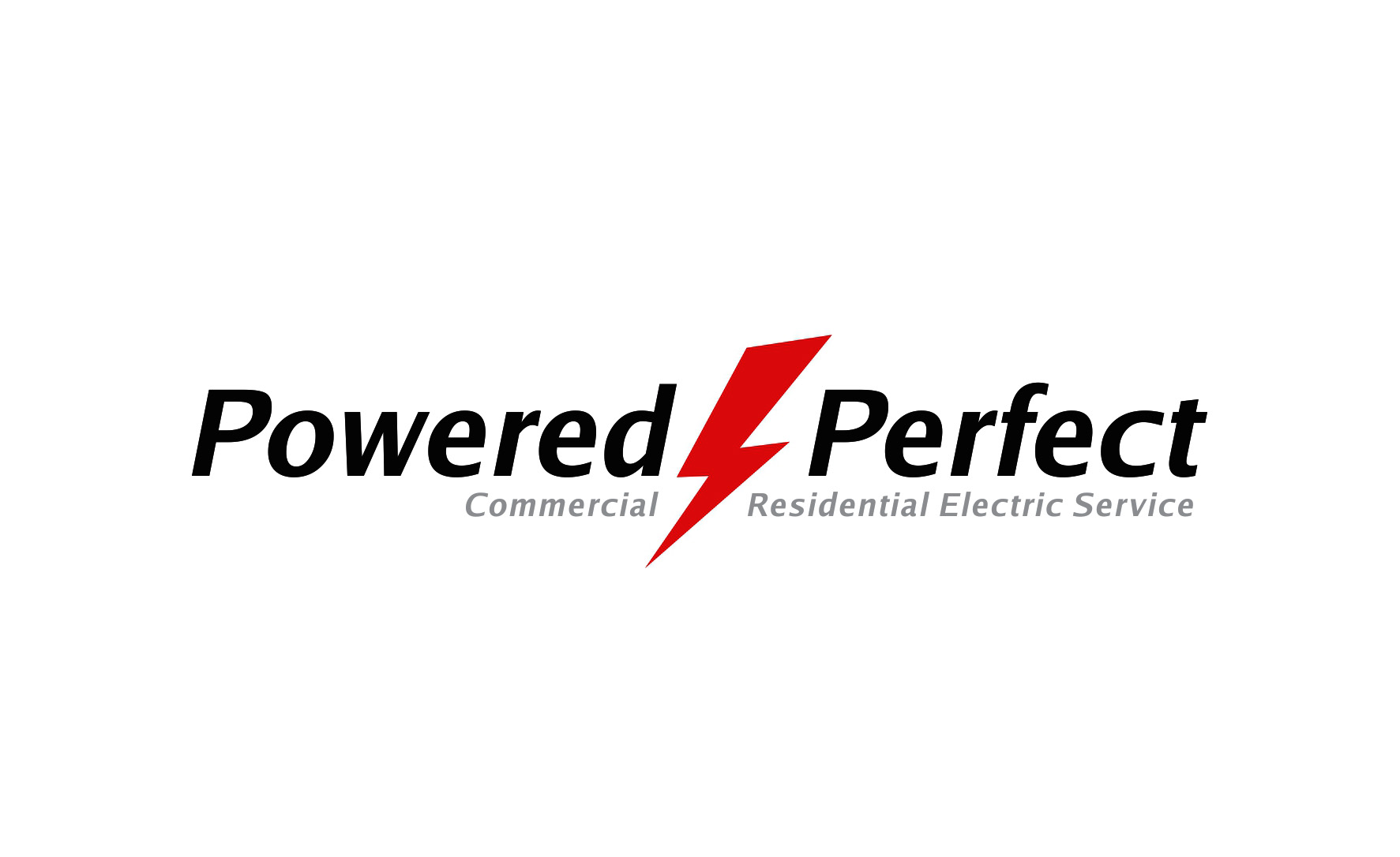 Logo Design by Muhammad Aslam - Entry No. 15 in the Logo Design Contest Captivating Logo Design for Powered Perfect.