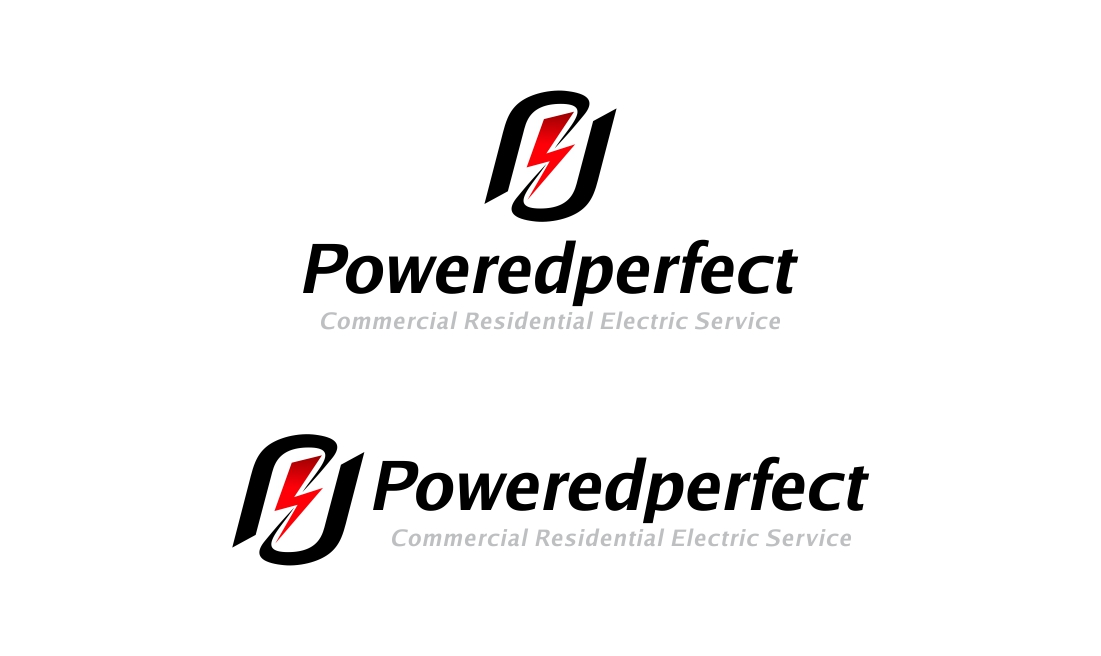 Logo Design by Muhammad Aslam - Entry No. 17 in the Logo Design Contest Captivating Logo Design for Powered Perfect.