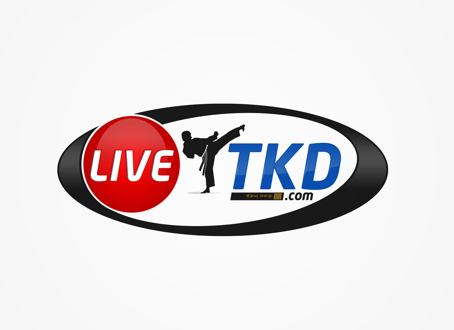 Logo Design by omARTist - Entry No. 177 in the Logo Design Contest New Logo Design for LiveTKD.com.