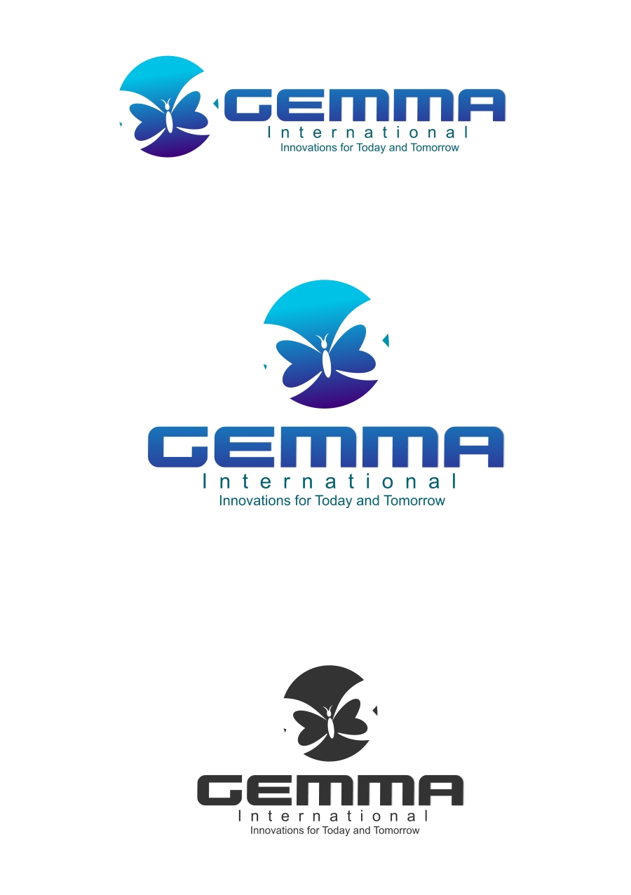 Logo Design by Private User - Entry No. 225 in the Logo Design Contest Artistic Logo Design for Gemma International.