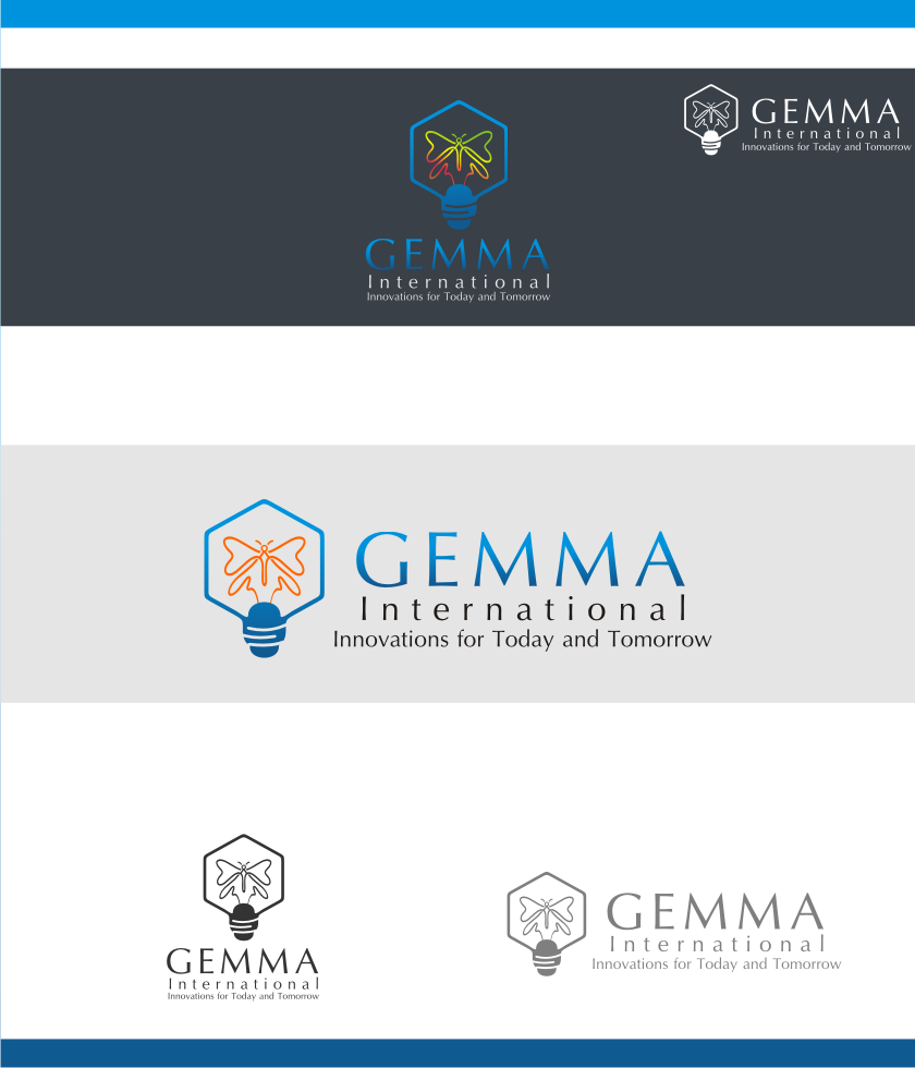 Logo Design by graphicleaf - Entry No. 226 in the Logo Design Contest Artistic Logo Design for Gemma International.