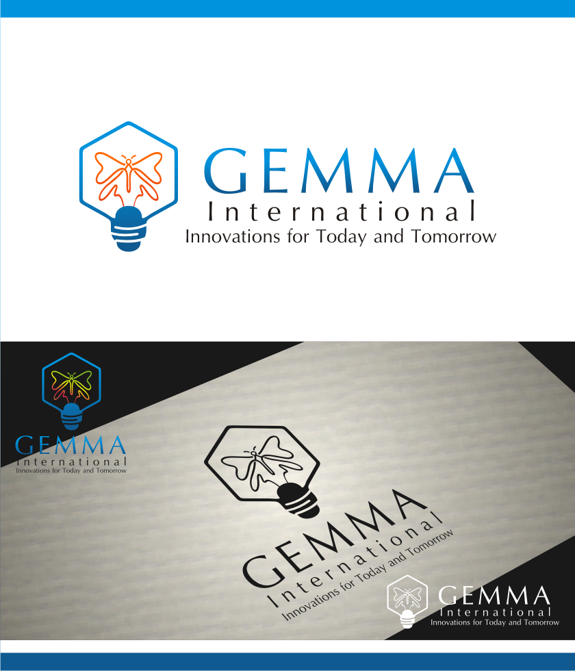 Logo Design by graphicleaf - Entry No. 227 in the Logo Design Contest Artistic Logo Design for Gemma International.
