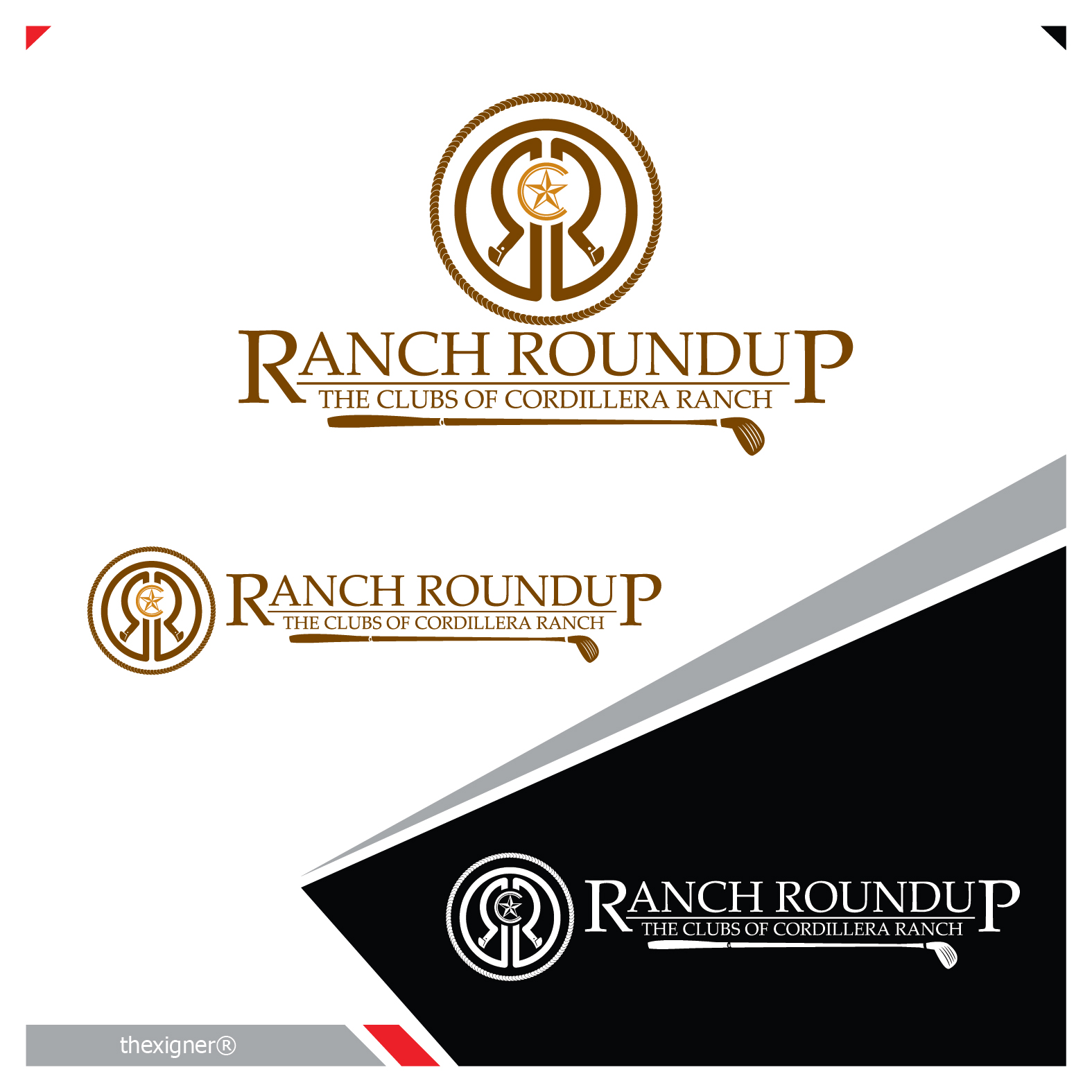 Logo Design by lagalag - Entry No. 44 in the Logo Design Contest Captivating Logo Design for Ranch Roundup.