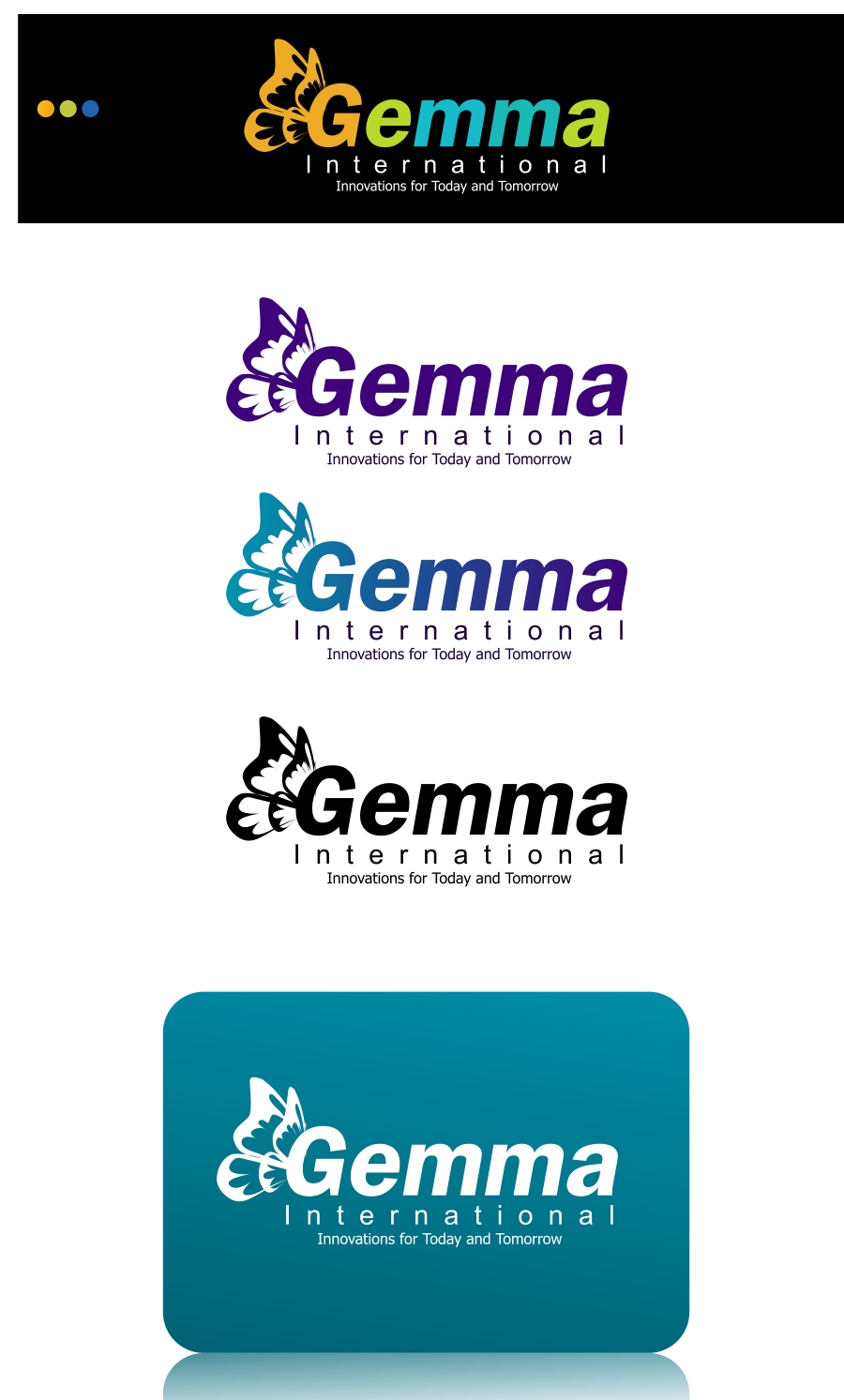 Logo Design by Private User - Entry No. 230 in the Logo Design Contest Artistic Logo Design for Gemma International.