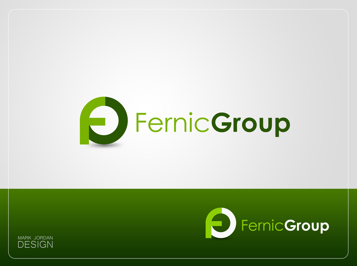Logo Design by Mark Anthony Moreto Jordan - Entry No. 87 in the Logo Design Contest Artistic Logo Design for Fernic Goup.