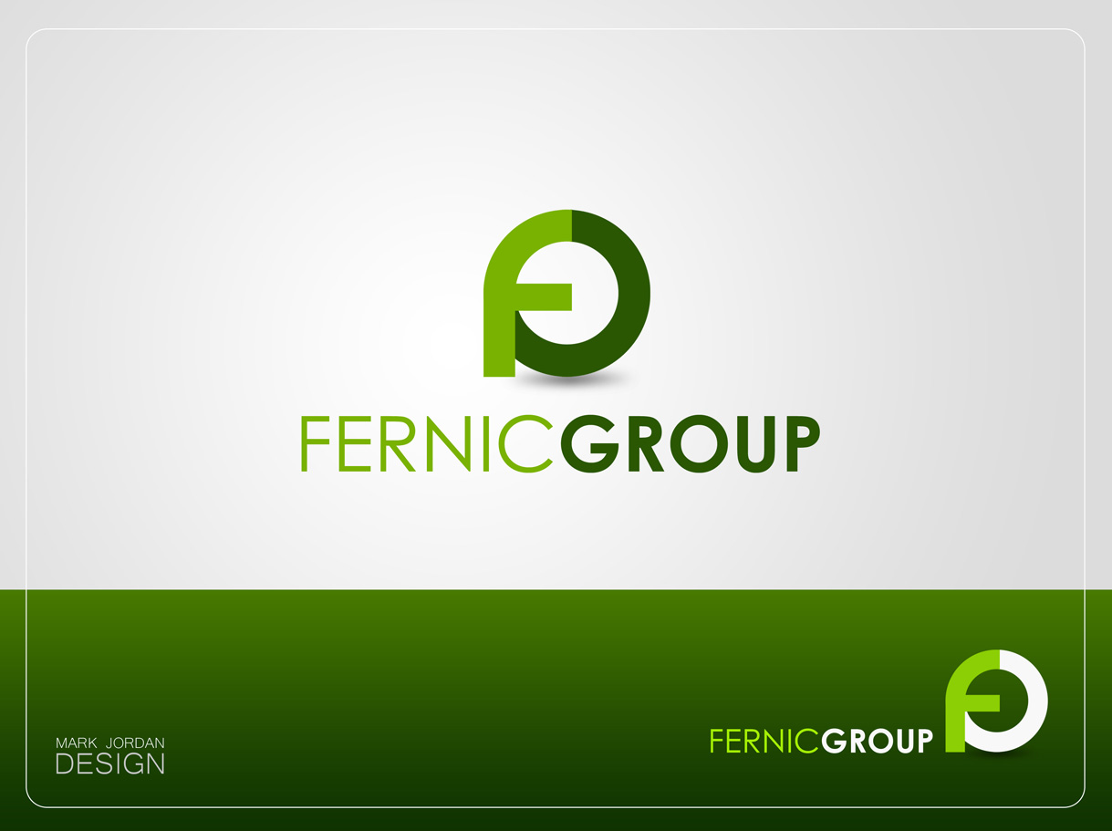 Logo Design by Mark Anthony Moreto Jordan - Entry No. 88 in the Logo Design Contest Artistic Logo Design for Fernic Goup.