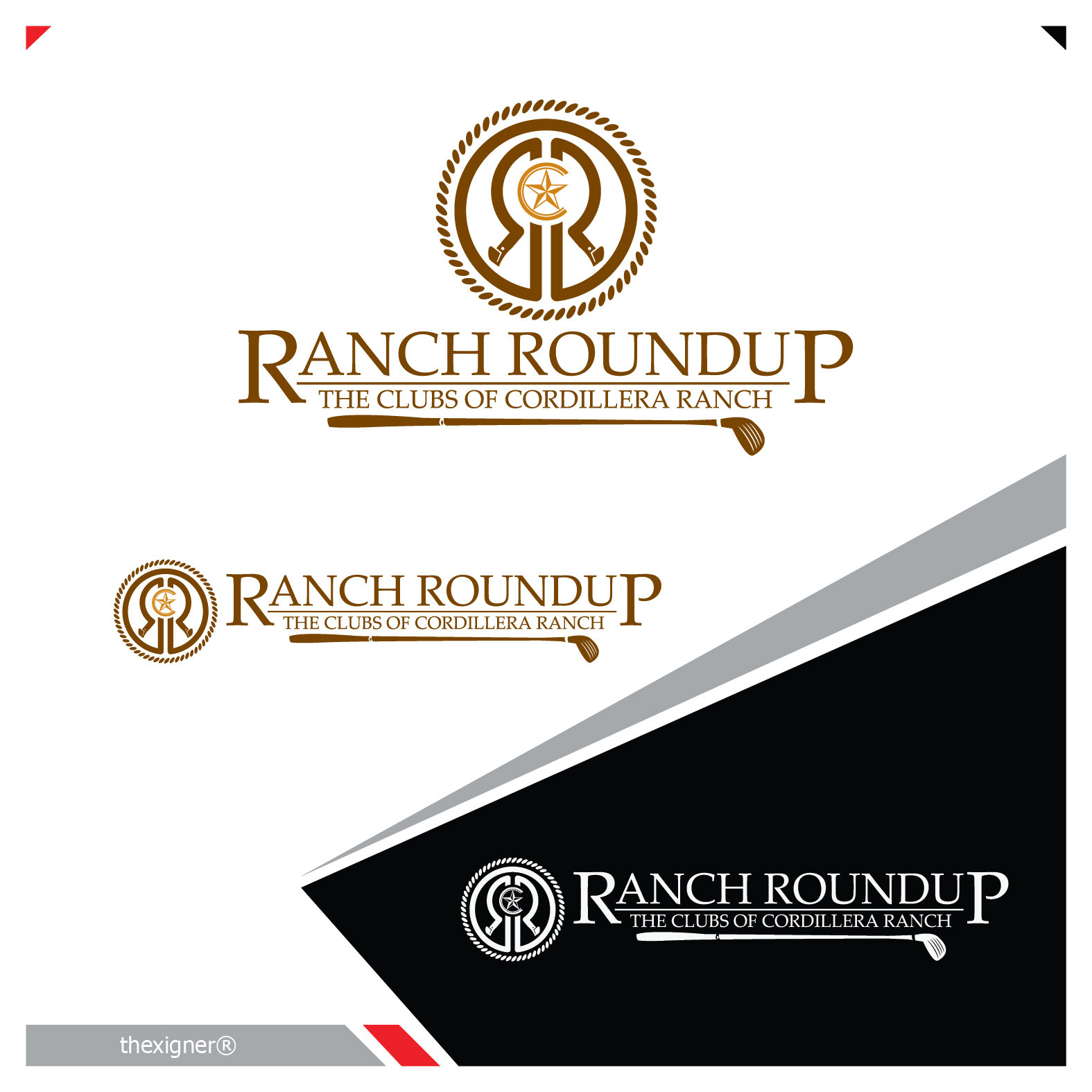 Logo Design by lagalag - Entry No. 45 in the Logo Design Contest Captivating Logo Design for Ranch Roundup.