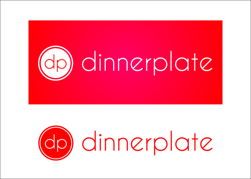 Logo Design by RasYa Muhammad Athaya - Entry No. 123 in the Logo Design Contest Imaginative Logo Design for Dinner Plate.
