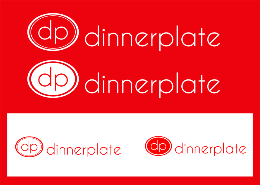 Logo Design by Ngepet_art - Entry No. 124 in the Logo Design Contest Imaginative Logo Design for Dinner Plate.