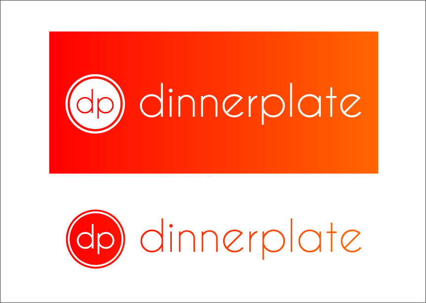 Logo Design by Ngepet_art - Entry No. 125 in the Logo Design Contest Imaginative Logo Design for Dinner Plate.