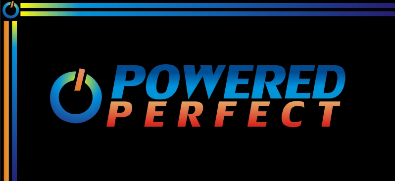 Logo Design by Jack  Wegert - Entry No. 21 in the Logo Design Contest Captivating Logo Design for Powered Perfect.