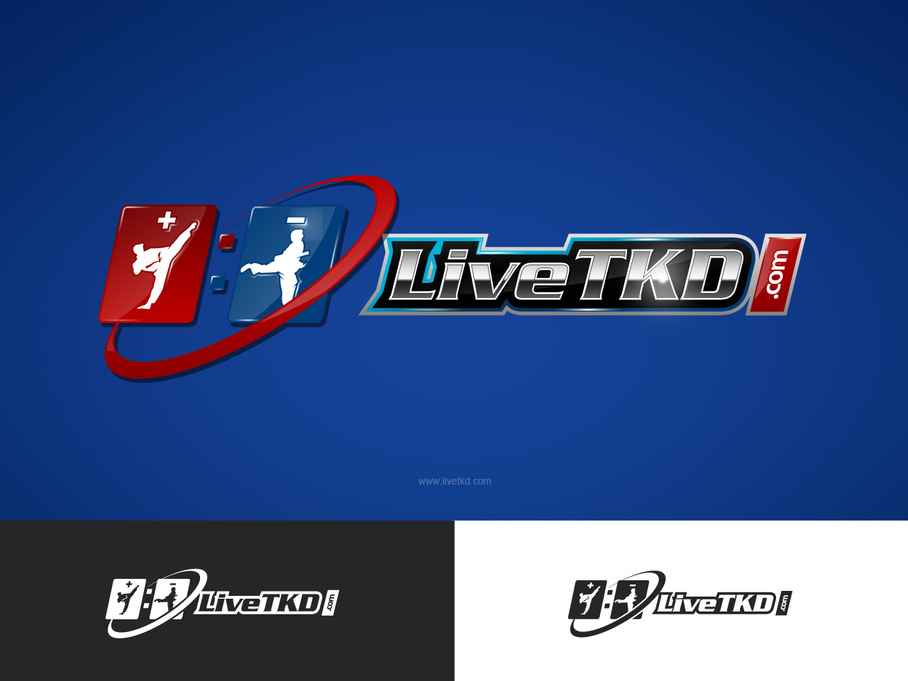Logo Design by jpbituin - Entry No. 181 in the Logo Design Contest New Logo Design for LiveTKD.com.
