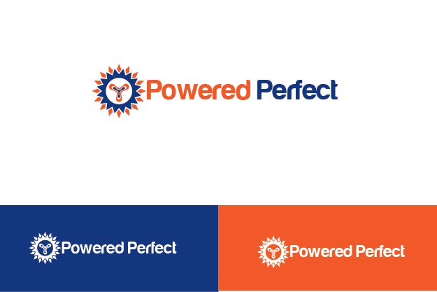 Logo Design by Private User - Entry No. 26 in the Logo Design Contest Captivating Logo Design for Powered Perfect.