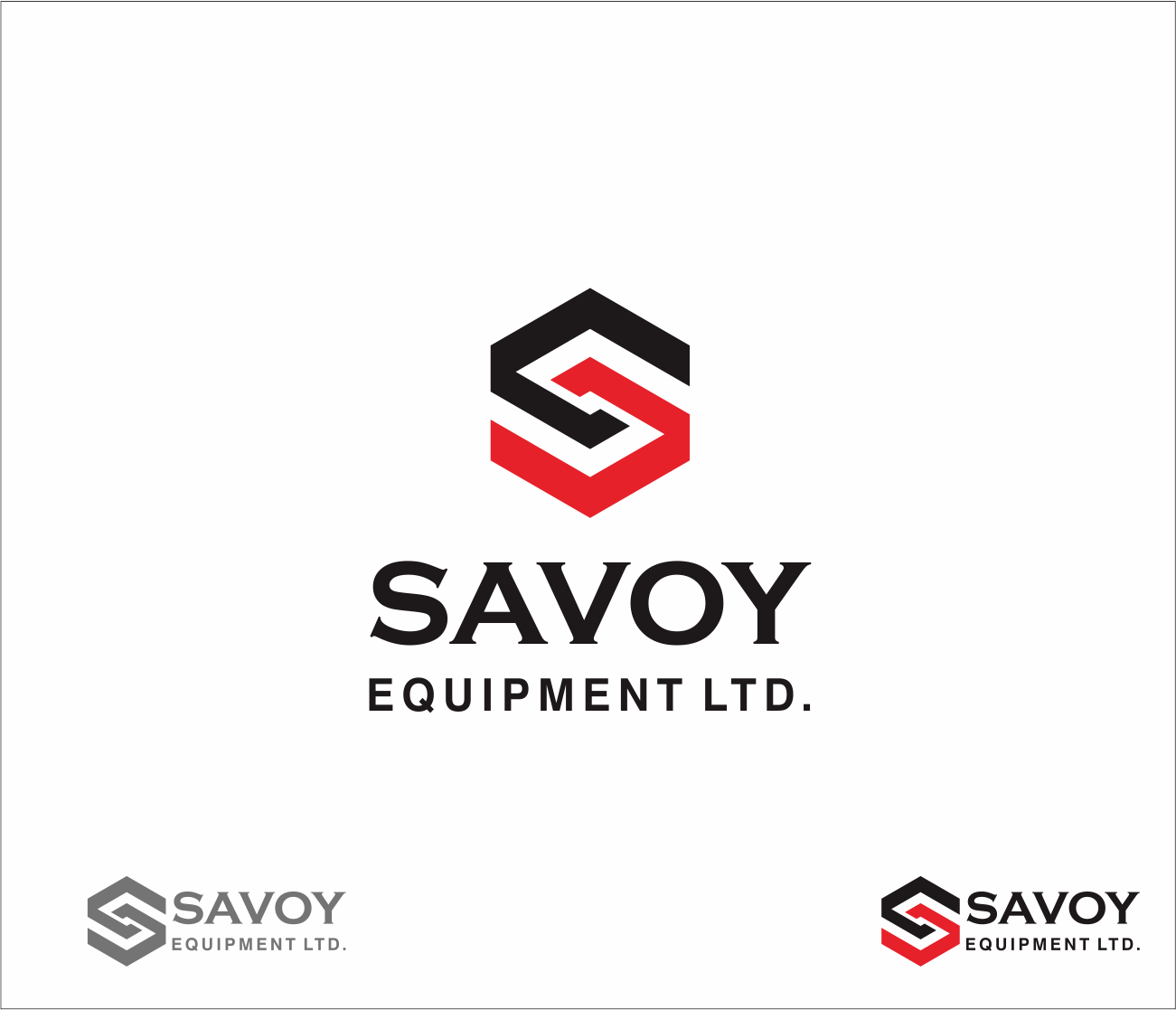 Logo Design by Armada Jamaluddin - Entry No. 64 in the Logo Design Contest Inspiring Logo Design for Savoy Equipment Ltd..