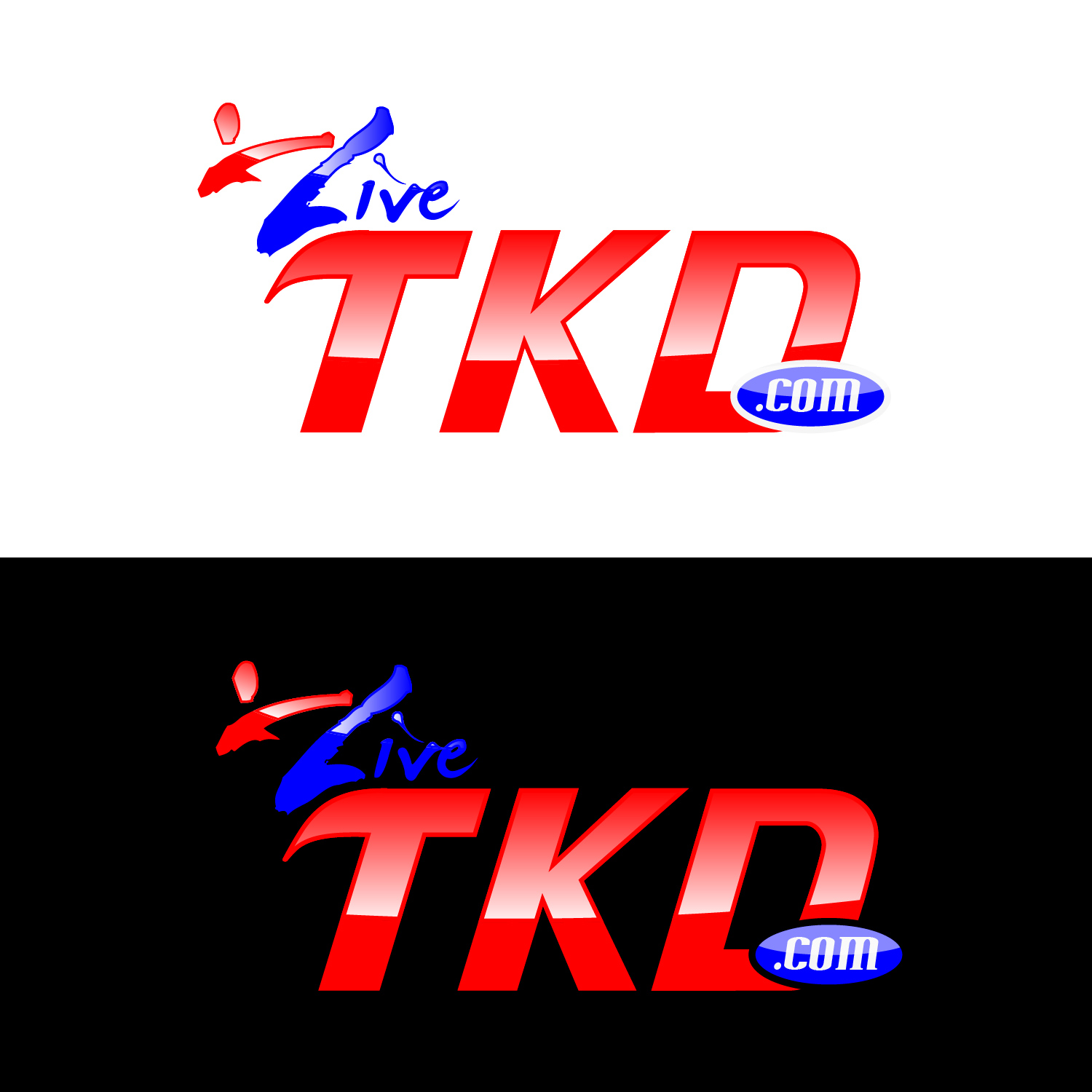 Logo Design by lagalag - Entry No. 187 in the Logo Design Contest New Logo Design for LiveTKD.com.