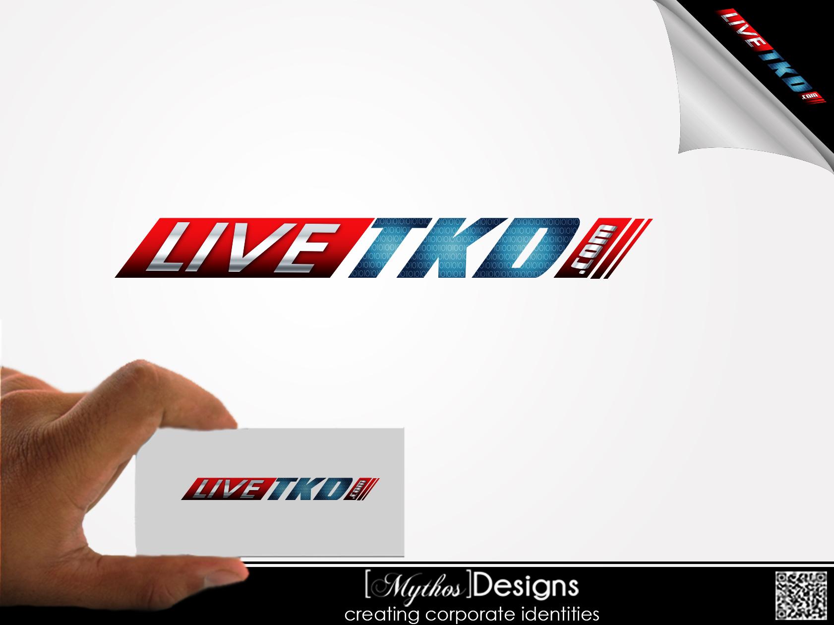 Logo Design by Mythos Designs - Entry No. 189 in the Logo Design Contest New Logo Design for LiveTKD.com.