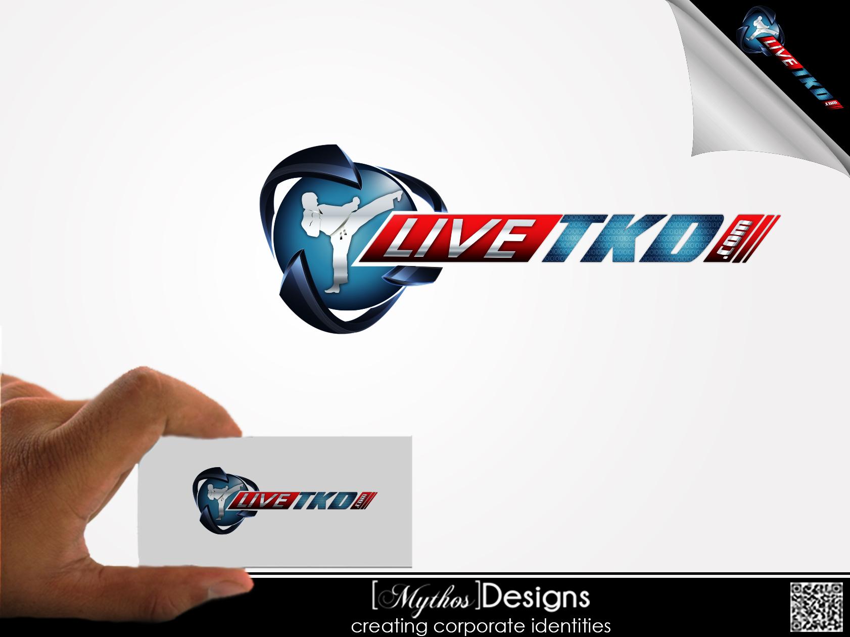 Logo Design by Mythos Designs - Entry No. 190 in the Logo Design Contest New Logo Design for LiveTKD.com.